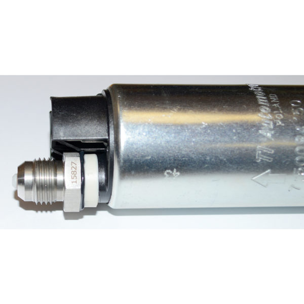 Check Valve, AN-6 Male to M10x1mm, Stainless 15827