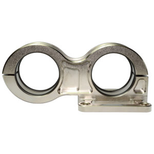 Dual Billet Pump Mount Double O'ring 44mm 44mm 90072
