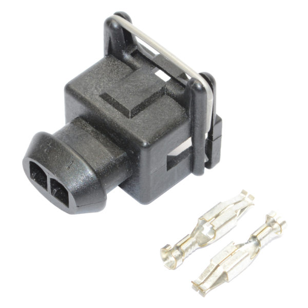 Electrical Connector, RMD, Junior Timer 2 Pin Connector, Including Terminals, (KV Type) 16405